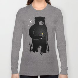 Lost in the wood Long Sleeve T-shirt