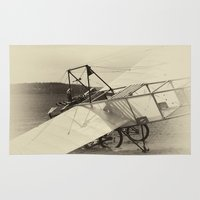 airplane Area & Throw Rugs featuring Airplane by DistinctyDesign