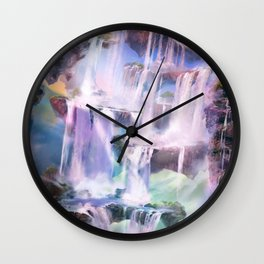 Flooded Strand Wall Clock