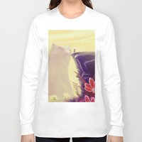 beauty and the beast Long Sleeve T-shirts featuring Beauty and the Beast by Josè Sala