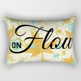 Fall Flow Rectangular Pillow