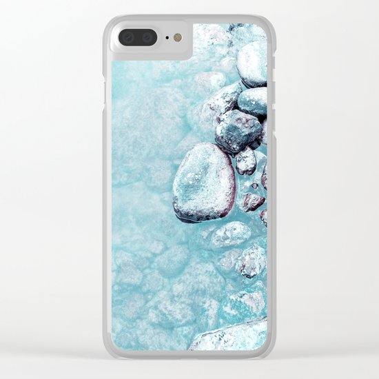 stone Clear iPhone Case