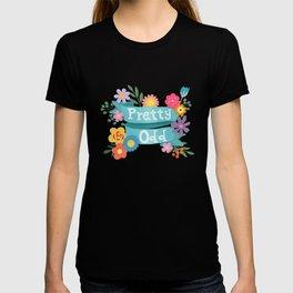 Pretty Odd Floral Banner T-shirt