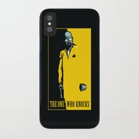 scarface iPhone & iPod Cases featuring The One Who Knocks by WinterArtwork
