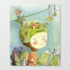 Little Terra Canvas Print