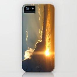 Nostalgic sunset over the Kalahari desert - Landscape Photography #Society6 iPhone Case