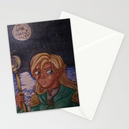 Moon Mage Stationery Cards