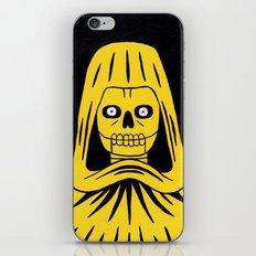 Yellow Death iPhone & iPod Skin