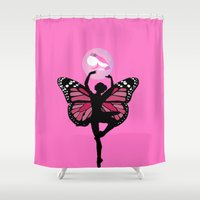 fairytale Shower Curtains featuring fairytale by myepicass
