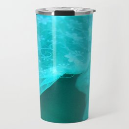 ghost in the swimming pool: aquagreen variations Travel Mug