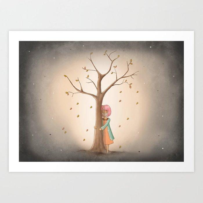 My Last Tree Art Print