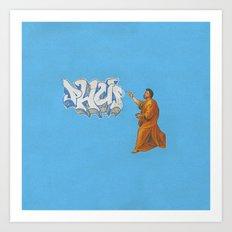 Phup Art Print