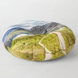 The Lakes of Covadonga, Enol Floor Pillow
