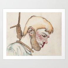 Suicide II Art Print