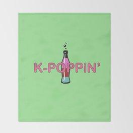 K-Poppin' Throw Blanket