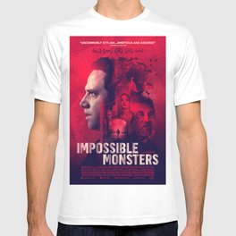 """""""Impossible Monsters"""" Theatrical Movie Poster T-shirt"""