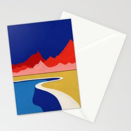 Red Hills Desert Pool Stationery Cards