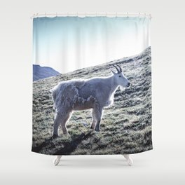 Mountain Goat 3 Shower Curtain