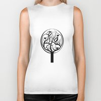 tree of life Biker Tanks featuring Life Tree by Frivolous Designs