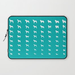 All Dogs (Aqua) Laptop Sleeve