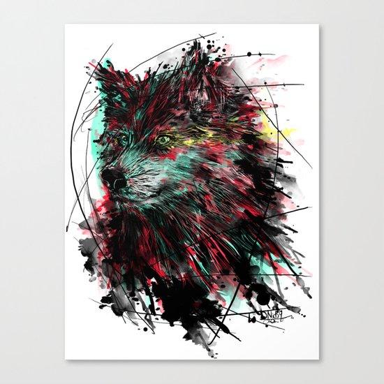 N WOlfie Canvas Print