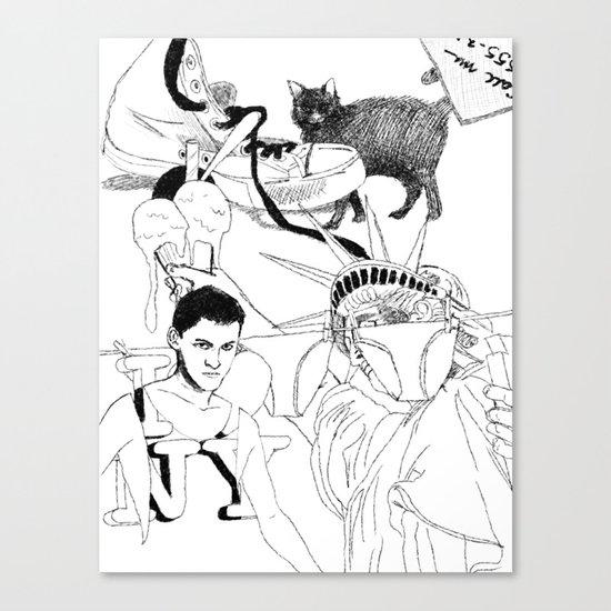 I LOVE NY Canvas Print