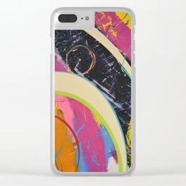 Pretty Tricky Stuff Clear iPhone Case