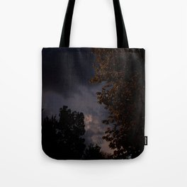 storm in the west. Tote Bag