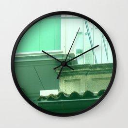 ebony & ivory Wall Clock