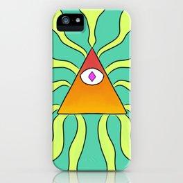 Eye of Neon iPhone Case