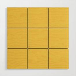 Primrose Yellow | Pantone Fashion Color Spring : Summer 2017 | Solid Color Wood Wall Art