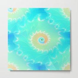 Nautilus Ocean Metal Print