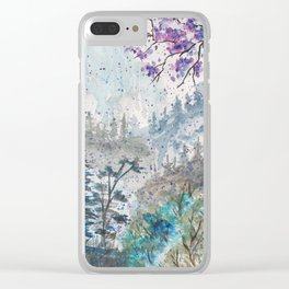 Going Somewhere Clear iPhone Case