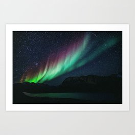 Aurora / Northern Lights II Art Print