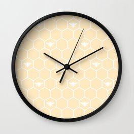 Honey Bee Mine Wall Clock