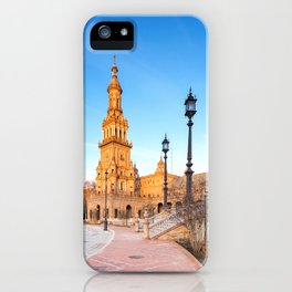 Plaza de España, Sevilla, Spain 4 iPhone Case