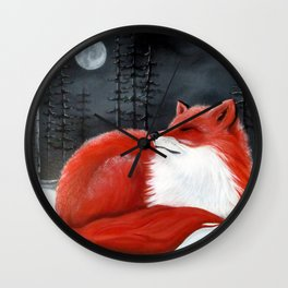 Lil' Vixen Wall Clock
