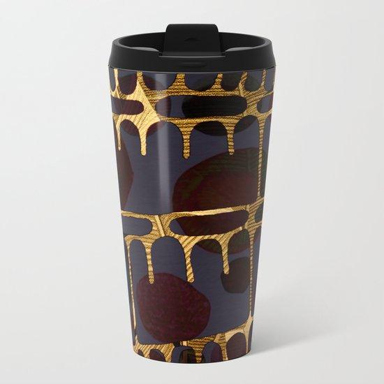 golden decor Metal Travel Mug