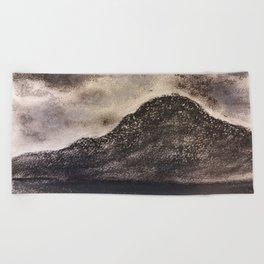 Norwegian Mountain by Gerlinde Beach Towel