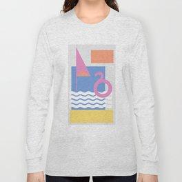 Spainish Beach Long Sleeve T-shirt