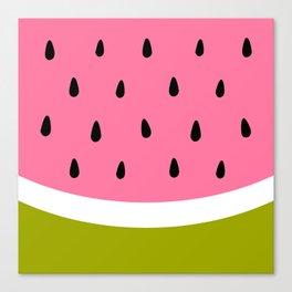 Cute Watermelon Canvas Print