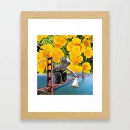 San Fran Sailin' Framed Art Print