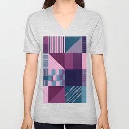 Geometric art 2 Unisex V-Neck