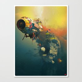 FOSS_STATION77 Canvas Print