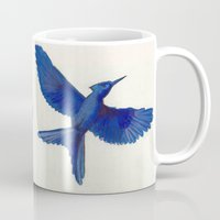 mockingjay Mugs featuring Mockingjay Mockingjay by Blanca MonQnill Sole