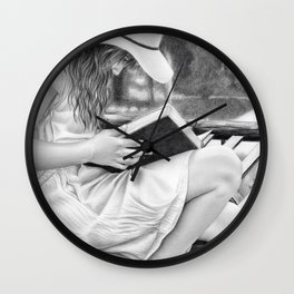 Summer Reading Wall Clock