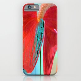 ABSTRACT FLORAL LANDSCAPE iPhone Case