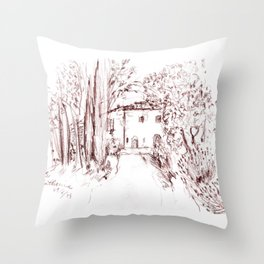 All the little lights Throw Pillow