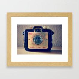 Little brownie bullet Framed Art Print