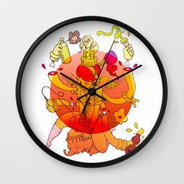 Naga Boo Wall Clock
